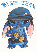 Stitch Soldier by Hakoshi-09