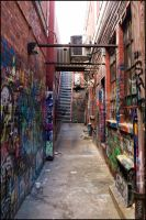 Graffiti Alley by BlindedByFaith1991