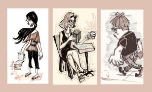 CoffeeShopSketches by Stnk13