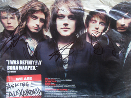 AA signed poster by zomgspongelolbob48