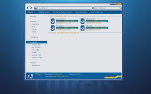 Intel Windows theme - early preview by yorgash