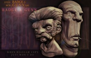 Badge and Gunn by DuncanFraser