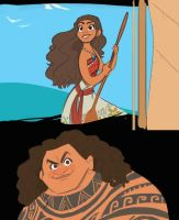 Moana: She Knows the Way by Dream-Piper