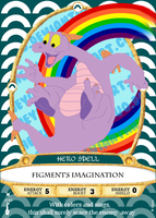 Sorcerers of the Magic Kingdom - Figment by TheYUO