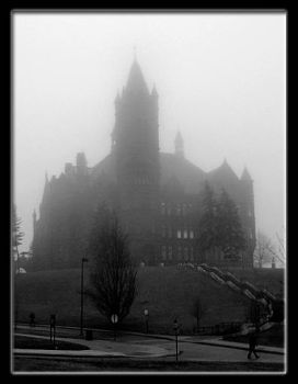 Dark Day at Crouse by magikfoto