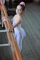 Young  russian ballerina by Mishkina