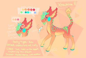 Xeraphina ref by AYRlA