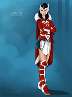 Lady Sif by slieni