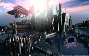 Ancient City by Euderion
