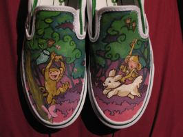 Monkeying Around with Shoes by jonWILEY