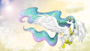 [MLP] Princess Celestia by yoonny92