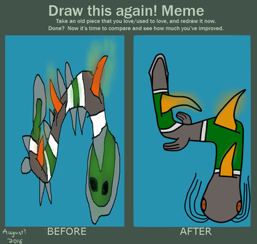 Draw it Again/Before - After - Hydrus by AccountName000