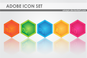 Adobe Icon Set by umayrr
