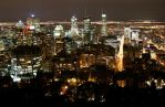Montreal lights by Laumoon