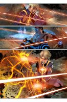 Avengers 35 color test by toonfed