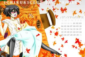 Ichiruki Calendar C (for sexy) November by Pamianime