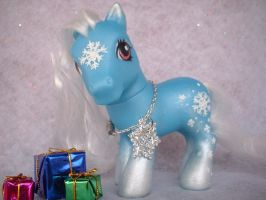 Winnie The Winter Pony Three by AdeCiroDesigns