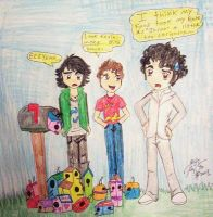 Bird Houses For Kevin Jonas by Princess-Kraehe