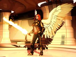 Hyperia the Seraph by ILJackson