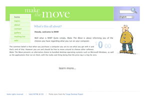 Make the Move redesign concept by klepas