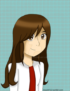 My first drawing in deviantart. by ana34722