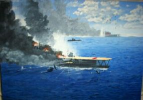 Battle of Midway by tompug
