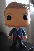The 12th Doctor Funko pop Figure by dimebagsdarrell