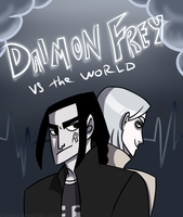 Daimon Frey vs the world by Zlukaka