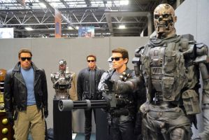 Arnie and The Terminators by masimage
