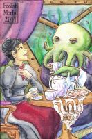 Tea with Cthulu by lissa-quon
