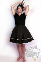 Black cherry egl skirt by The-Cute-Storm