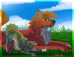 Hunting Lesson by Krissi2197