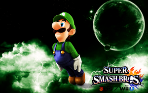 Super Smash Bros. Wii U / 3DS - Luigi by Legend-tony980