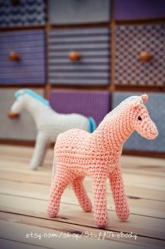 Horse/Pony Crochet Pattern by Stuffthebody