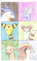 Pokemon Silver Team by Yemiko8