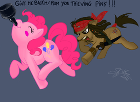 Thieving pink by Athyess