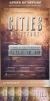 Cities of Refuge Church Flyer Template by loswl