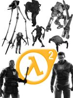 half life brush pack by stiannius