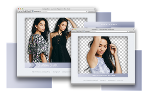 Pack Png 814 // Shanina Shaik by ExoticPngs