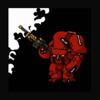 Red Robot by Yoblicnep