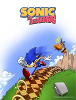 Sonic Fake Cover by fkaleo