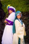 Ja'far and Sinbad- The labyrinth of magic by mory-chan