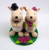 Kangaroo Theme Cake Topper by HeartshapedCreations