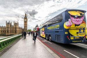 on the Westminster bridge by Rikitza