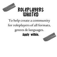 Roleplayers wanted! by jadedlioness