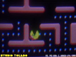 The Death of Ms. Pac-Man by studio-toledo