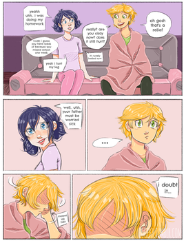 Unreceived PAGE 49 ( miraculous ladybug ) by Hogekys