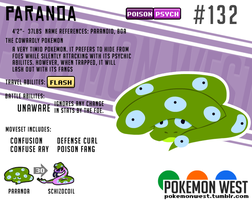 #132 Paranoa by pokemonwest