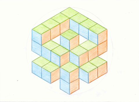 Cube thingy by karoujumi