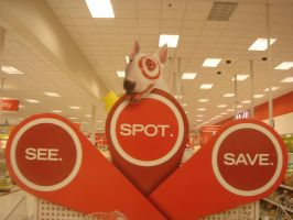 Love Target - See Spot Save by silver6162